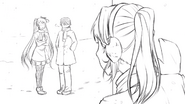 3 Senpai's bothersome childhood friend is flirting with him again...