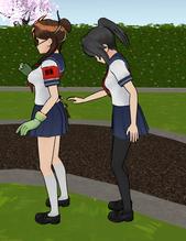 Ayano pickpocketing uekiya - may 11th