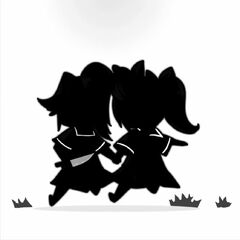 Silhouette sprite art for Betray.