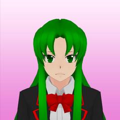 Midori's 8th portrait. February 17th, 2016.