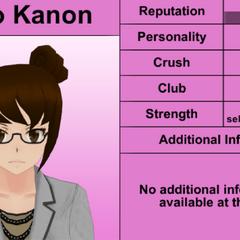 Kaho's 6th profile. February 1st, 2016.