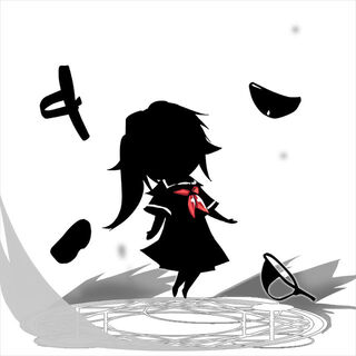 Silhouette sprite art for an unknown challenge, presumably for utilizing <a href=