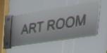 Art Room sign