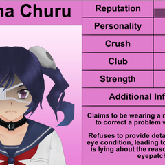 Supana's 3rd profile. February 8th, 2016.
