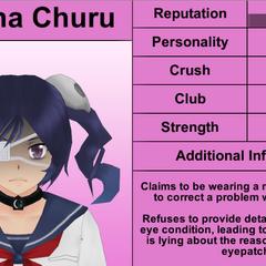 Terceiro perfil de Supana.