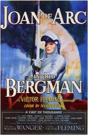 Joan of arc (1948 film poster)