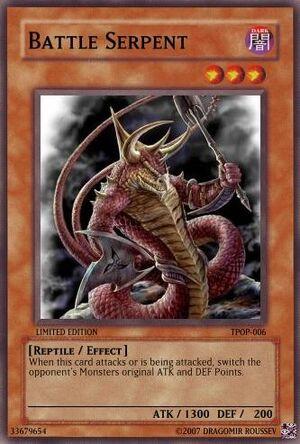 TPOP-006 Battle Serpent