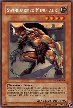 Swordarmed Minotaur