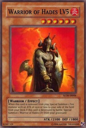 Warrior of Hades LV5