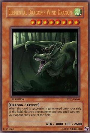Elemental Dragon - Wind Dragon