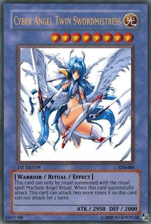 Cyber Angel Twin Swordmistress