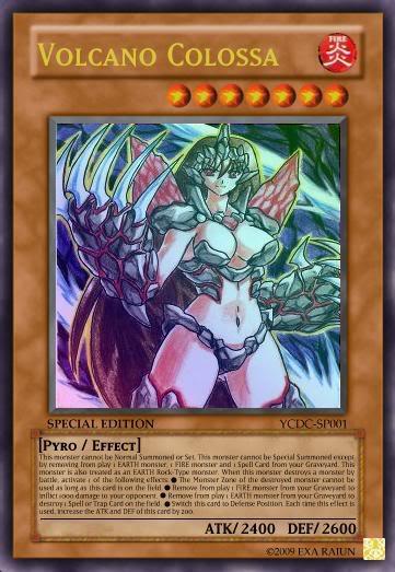 Volcano Colossa Yu Gi Oh Card Maker Wiki Fandom