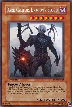 Dark Calibur Dragons Blood