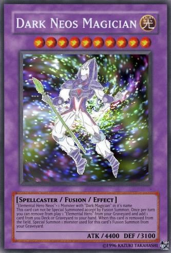 Dark Neos Magician | Yu-Gi-Oh Card Maker Wiki | FANDOM ...