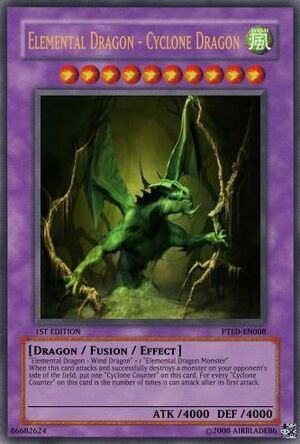 Elemental Dragon - Cyclone Dragon
