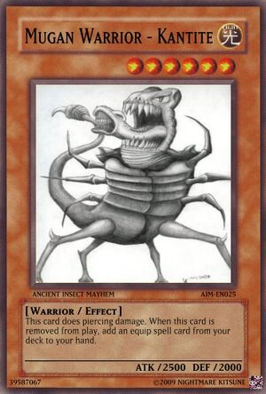 Mugan Warrior - Kantite