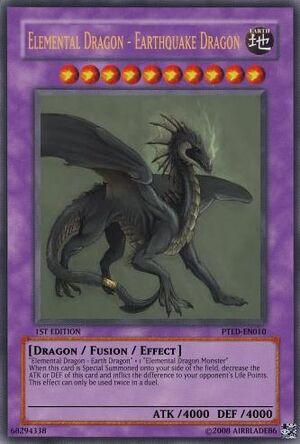 Elemental Dragon - Earthquake Dragon