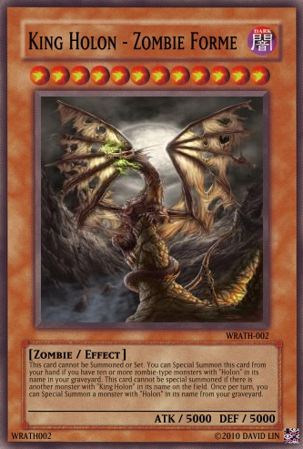 King Holon - Zombie Forme | Yu-Gi-Oh Card Maker Wiki ...