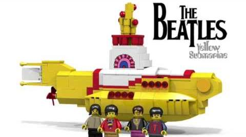 LEGO Ideas The Beatles Yellow Submarine Reaches 10K Supporters