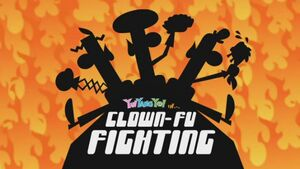 217a - Clown-Fu Fighting
