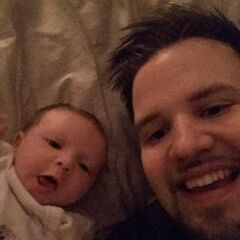 Turps and his daughter, Rosie Turpin.