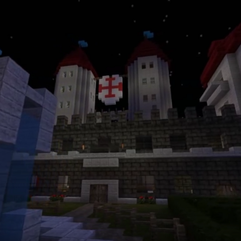 Castle from Sjin's first Let's Build