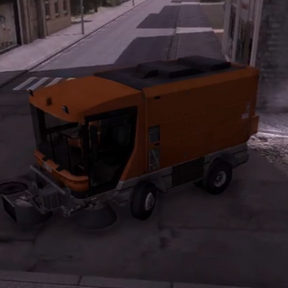 Simon Street Sweeper, Clementine.