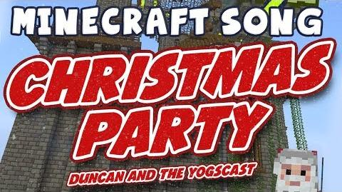 ♪ Minecraft Song - Duncan's Christmas Party
