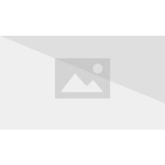 Zoey wearing a goat mask.