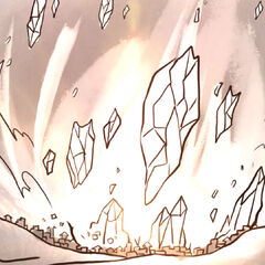 A huge chunk of Pelor's Light decimates Firstlight.