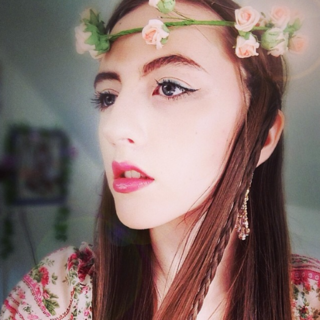 Beckii's former Twitter avatar.