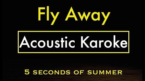 Fly Away - 5SOS Karaoke Lyrics (Acoustic Guitar Karaoke) Instrumental