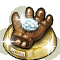 Trophy-Bronzed Zombie Hand