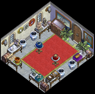 Palace Left-facing Upgraded Trophy Room