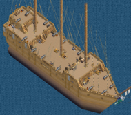 Grand frigate Main Deck