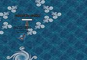 Sloop sinking
