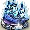 Trophy-Silver Ghost Frigate