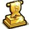 Trophy-Gold Finius Pennant