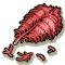 Trophy-Crimson Bill's Plume