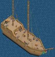 Merchant brig Main Deck