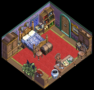 Palace Left-facing Upgraded Bedroom