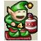 Trophy-Ornamental Cabin Elf