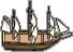 Merchant galleon dock
