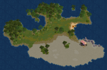 Charcoal Island (Cobalt)