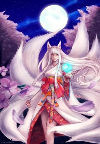 File:Kitsune ahri by nyaruko-d6gzhe4.png