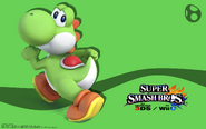 Yoshi wall box2 super smash bros wii u 3ds by djari1080-d87l43m