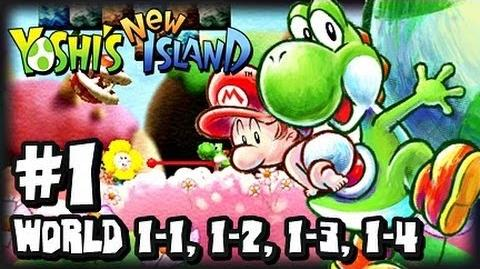 Yoshi's New Island 3DS (1080p) - Part 1 - World 1 (1 2) w Giveaway