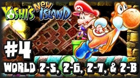 Yoshi's New Island 3DS - (1080p) - Part 4 - World 2 (2 2)