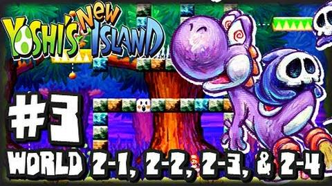 Yoshi's New Island 3DS - (1080p) - Part 3 - World 2 (1 2)