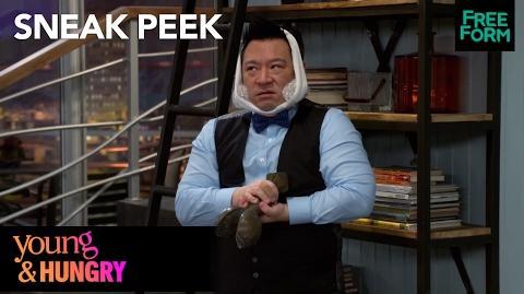 Young & Hungry Season 5, Episode 9 Sneak Peek Elliot After Wisdom Teeth Surgery Freeform